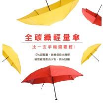 【雨洋工坊x極度輕量】福懋超薄遮光UV布-53全碳纖輕量傘(限時特價買一送一)