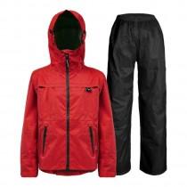 【雨洋工坊X機能行雨衣】揹客 PACKERISM 夾克式背包款衝鋒雨衣_緋紅