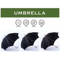 【雨洋工坊x日系淑女傘】花瓣立體線條直立淑女傘