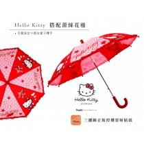 【雨洋工坊x三麗鷗家族】 正版授權小童傘-Kitty 點點星星款-60公分